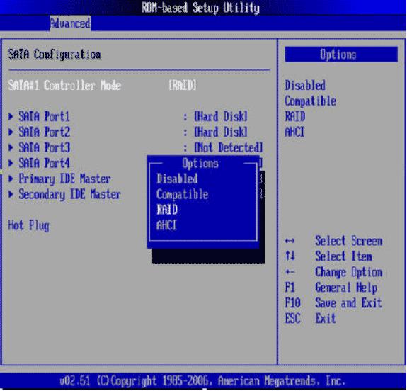 惠普hp dl160 g6 raid和server2003系统安装方法