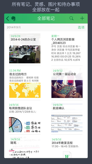 印象笔记(Evernote) iPhone/iPad版