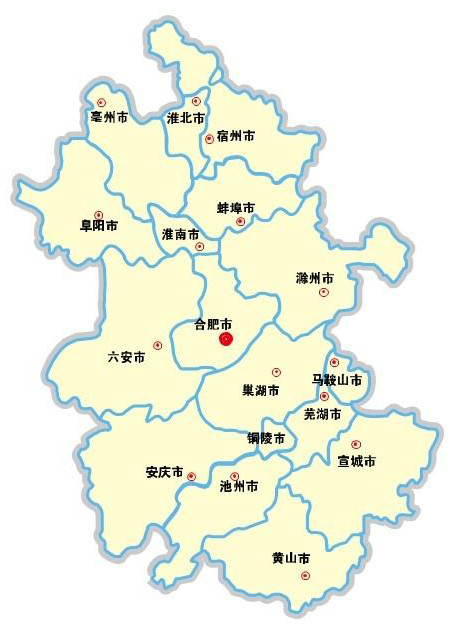 安徽省金寨县地图
